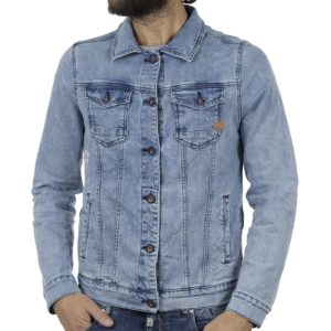 Τζιν Μπουφάν COVER JACKET D0445 Stone Blue