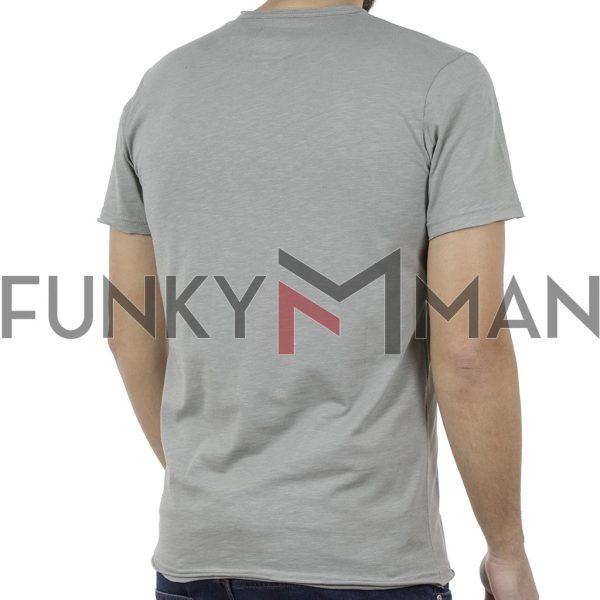 Κοντομάνικη Μπλούζα T-Shirt Cotton4all 19-735 ανοιχτό Πράσινο