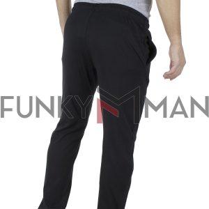 Παντελόνι Φόρμα DOUBLE MPAN-5 Μαύρο