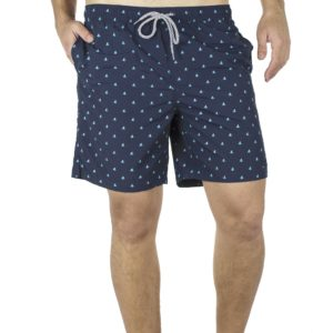 Μαγιό Βερμούδα All Over Print DOUBLE MTS-115 Navy