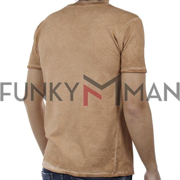 Κοντομάνικη Μπλούζα Crew Neck T-Shirt DOUBLE TS-91 Mango