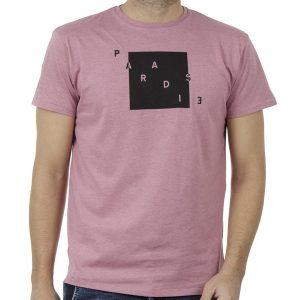Κοντομάνικη Μπλούζα Crew Neck T-Shirt DOUBLE TS-91 Ροζ
