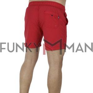 Μαγιό Βερμούδα FUNKY BUDDHA FBM001-16119 Κόκκινο