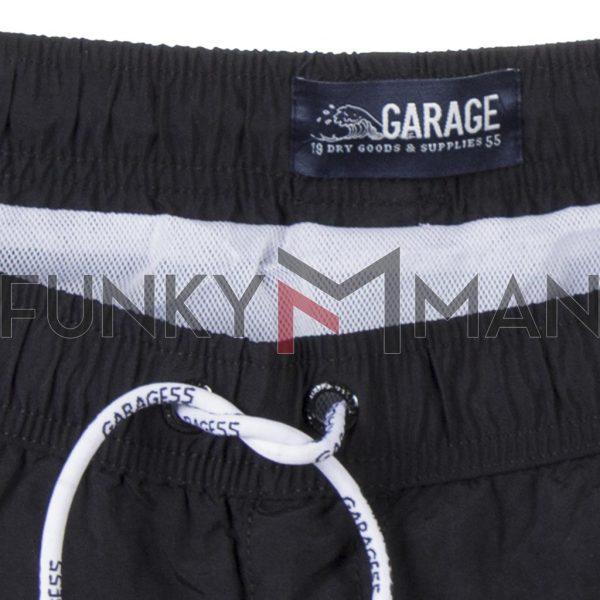Μαγιό Βερμούδα Garage55 GAM201-16119 Μαύρο