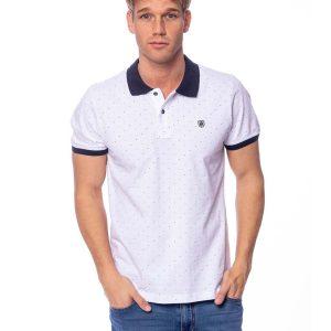 3f340220873f Κοντομάνικη Μπλούζα Single Jersey POLO HEAVY TOOLS DIVIDE Λευκό