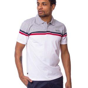 Κοντομάνικη Μπλούζα Single Jersey POLO HEAVY TOOLS DUMAS Λευκό