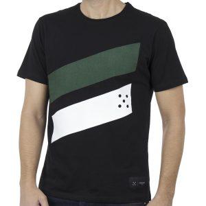 Κοντομάνικο Μπλουζάκι Jersey T-Shirt HOODLOOM HSB-1-6 Μαύρο