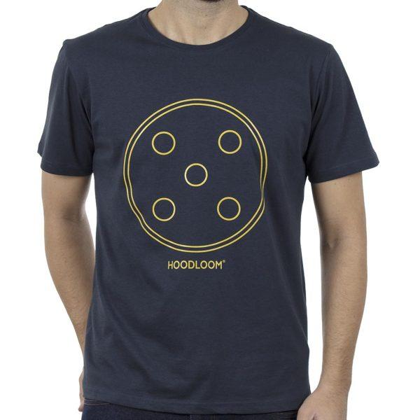 Κοντομάνικο Μπλουζάκι Jersey T-Shirt HOODLOOM HSB-1-8 Five Dots Navy