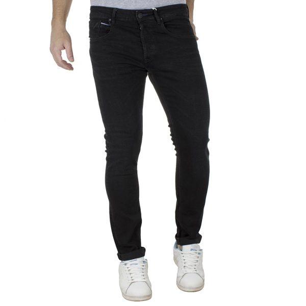 Τζιν Παντελόνι Slim Fit REDSPOT BONO B Μαύρο