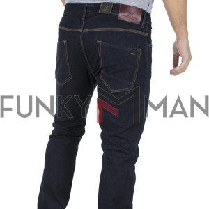 Τζιν Παντελόνι με Λάστιχα REDSPOT DYLAN SD σκούρο Μπλε