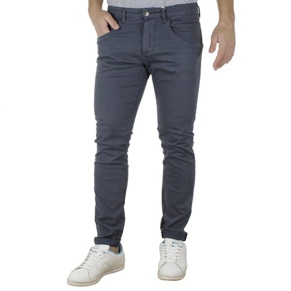 Τζιν Παντελόνι Slim Fit REDSPOT MARTINE Steel Grey