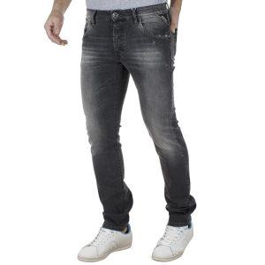Τζιν Παντελόνι Slim Fit SHAFT Jeans L723 Μαύρο
