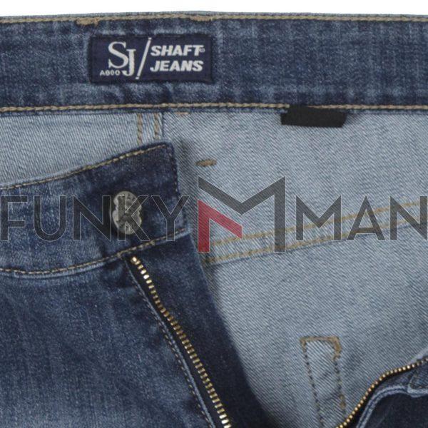 Τζιν Παντελόνι Regular Fit SHAFT Jeans L863 Μπλε