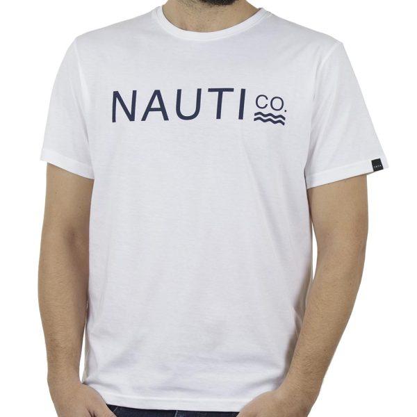Κοντομάνικη Μπλούζα T-Shirt SNTA SSB-1-3 Λευκό