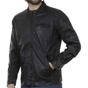 Μπουφάν Τεχνόδερμα Jacket SPLENDID 41-201-002 Μαύρο