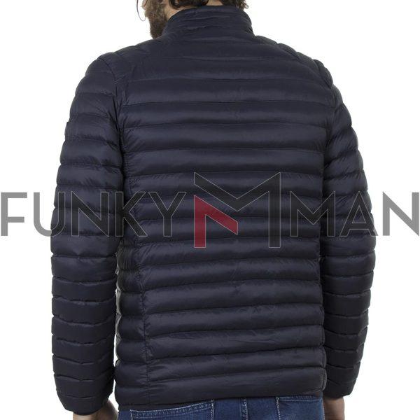 Φουσκωτό Μπουφάν Puffer Jacket SPLENDID 41-201-009 Navy