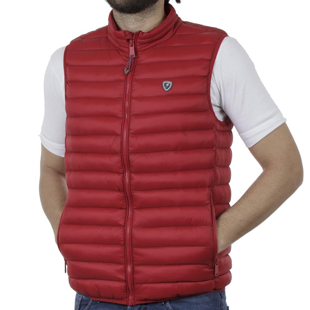 b28dd25e245a Αμάνικο Μπουφάν-Γιλέκο Vest SPLENDID 41-202-001 Κόκκινο