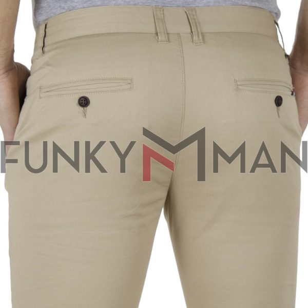 Chinos Παντελόνι Slim Fit VICTORY MAIAMI Beige