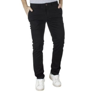 Chinos Παντελόνι Slim Fit VICTORY MAIAMI Μαύρο