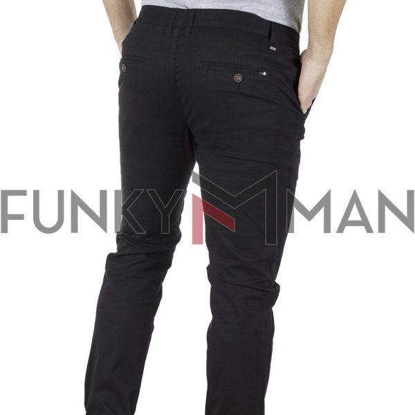Chinos Παντελόνι Slim Fit VICTORY MAIAMI Μαύρο