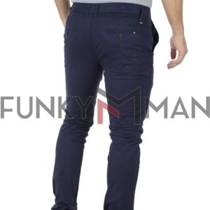 Chinos Παντελόνι Slim Fit VICTORY MAIAMI Μπλε