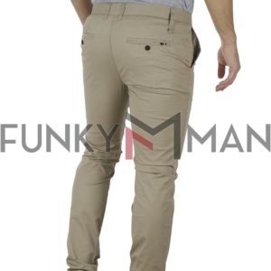 Chinos Παντελόνι Slim Fit VICTORY MAIAMI Cigar
