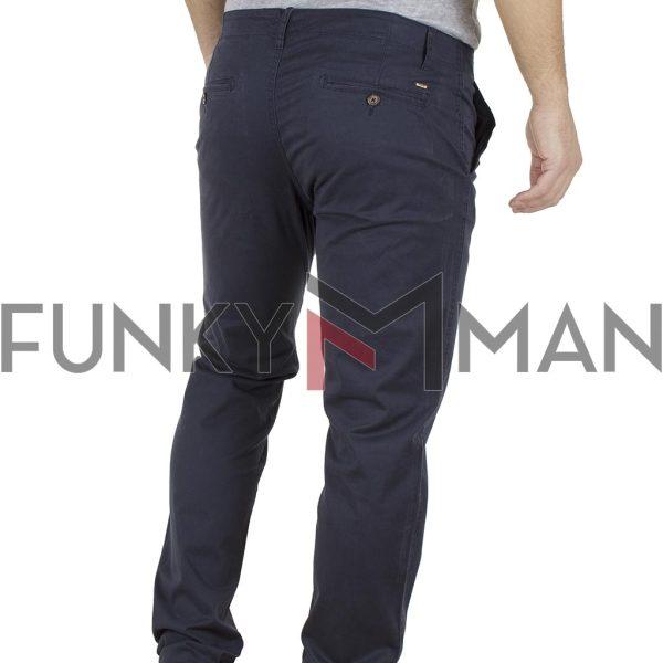 Παντελόνι Casual Chinos DOUBLE CP-219 Indigo