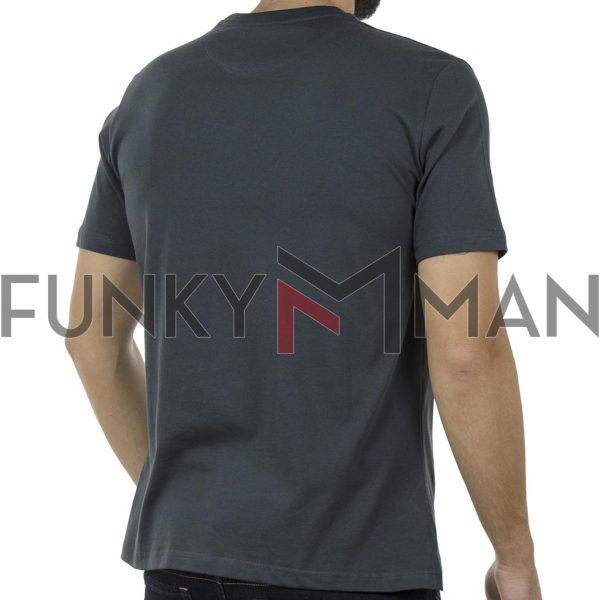Κοντομάνικη Μπλούζα Pennie T-Shirt CARAG 22-233-19N Ανθρακί