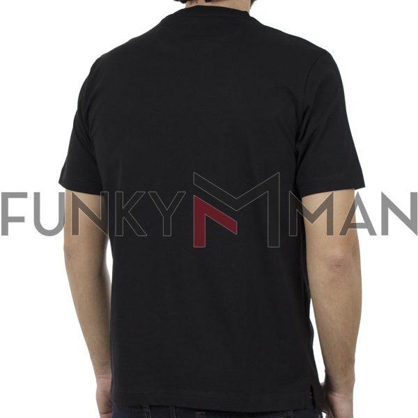 Κοντομάνικη Μπλούζα Pennie T-Shirt CARAG 22-233-19N Μαύρο