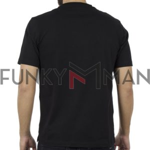 Κοντομάνικη Μπλούζα Pennie T-Shirt CARAG 22-288-19N Μαύρο