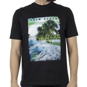 Κοντομάνικη Μπλούζα Pennie T-Shirt CARAG 22-300-19N Μαύρο