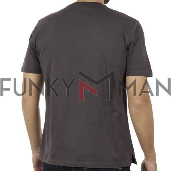 Κοντομάνικη Μπλούζα Pennie T-Shirt CARAG 22-330-19N Ανθρακί