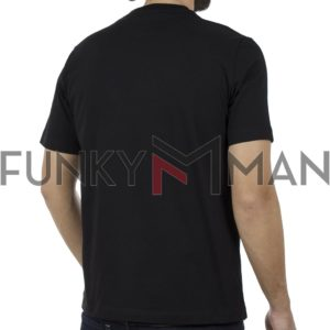 Κοντομάνικη Μπλούζα Pennie T-Shirt CARAG 22-330-19N Μαύρο