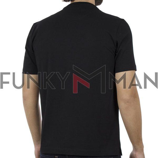 Κοντομάνικη Μπλούζα Pennie T-Shirt CARAG 22-333-19N Μαύρο