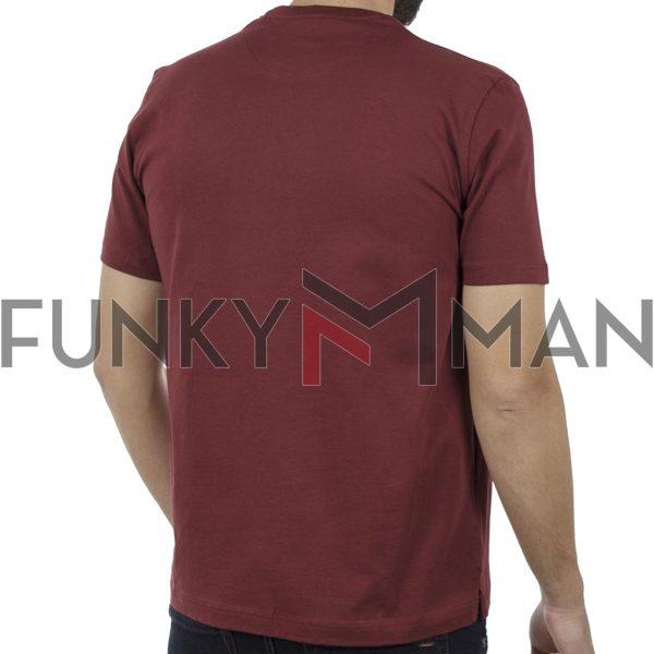 Κοντομάνικη Μπλούζα Pennie T-Shirt CARAG 22-333-19N Κόκκινο