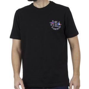 Κοντομάνικη Μπλούζα Pique T-Shirt 220gr CARAG 99-270-19N Μαύρο