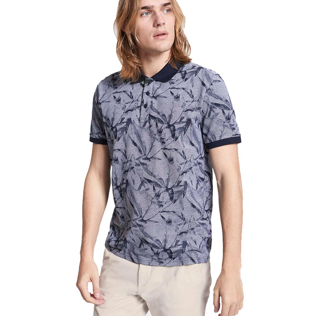 194d45e85da9 Κοντομάνικο Polo All Over Print Floral Celio NEBAMBOU Εμπριμέ ...