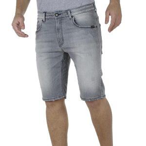 Βερμούδα Τζιν COVER Jeans V-TYPEC KV495 Γκρι