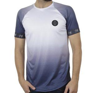 Κοντομάνικη Μπλούζα Fashion T-Shirt FREE WAVE 91114 Μπλε