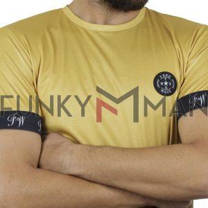 Κοντομάνικη Μπλούζα Fashion T-Shirt FREE WAVE 91115 Κίτρινο
