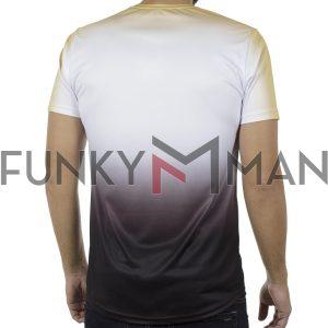 Κοντομάνικη Μπλούζα Fashion T-Shirt FREE WAVE 91121 Κίτρινο