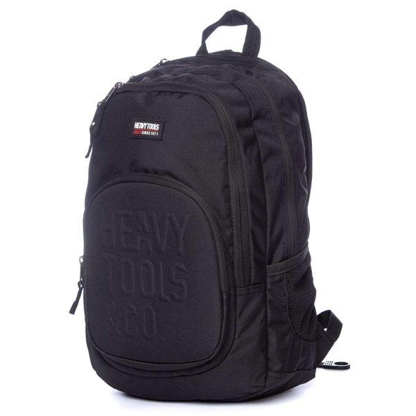 Σακίδιο Πλάτης Backpack HEAVY TOOLS ELIAS19 Μαύρο