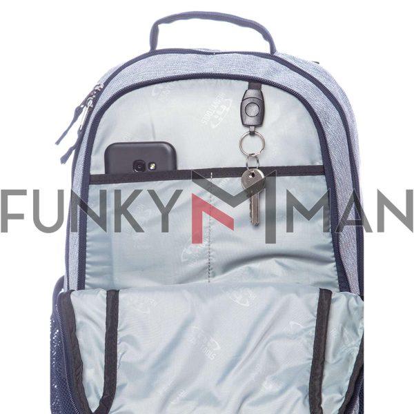 Σακίδιο Πλάτης Backpack HEAVY TOOLS ELMANO19 Γκρι