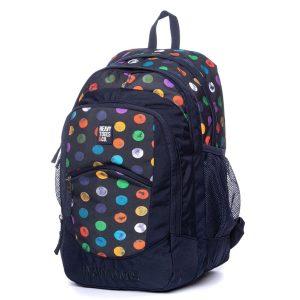 Σακίδιο Πλάτης All Over Print Backpack HEAVY TOOLS EMOXO Μπλε
