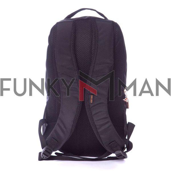 Σακίδιο Πλάτης All Over Print Backpack HEAVY TOOLS ENIOR19 Μαύρο