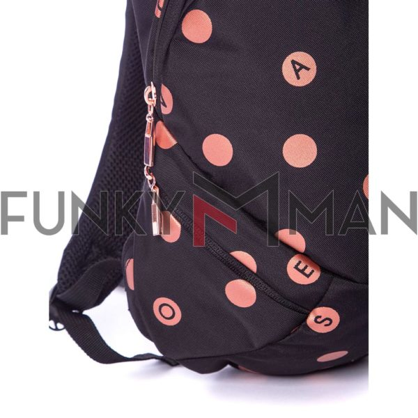 Σακίδιο Πλάτης All Over Print Backpack HEAVY TOOLS ENIOR19 Μαύρο