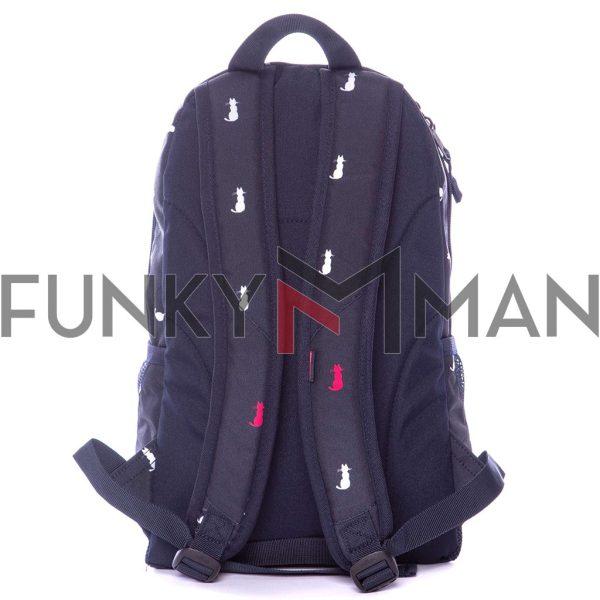 Σακίδιο Πλάτης All Over Print Backpack HEAVY TOOLS ENOKA19 Μπλε