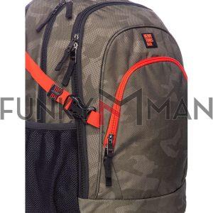 Σακίδιο Πλάτης Backpack HEAVY TOOLS ETTIE19 παραλλαγή Χακί
