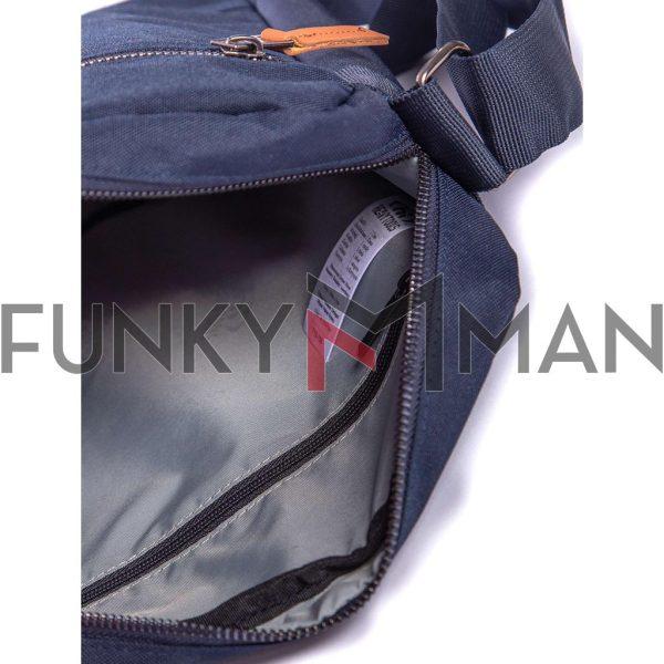 Τσάντα Ώμου Crossbody HEAVY TOOLS EVAN19 Μπλε