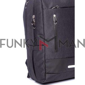 Σακίδιο Πλάτης Backpack HEAVY TOOLS EXTERO Μαύρο